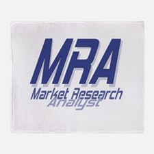 Cool Market Research Analyst Throw Blanket