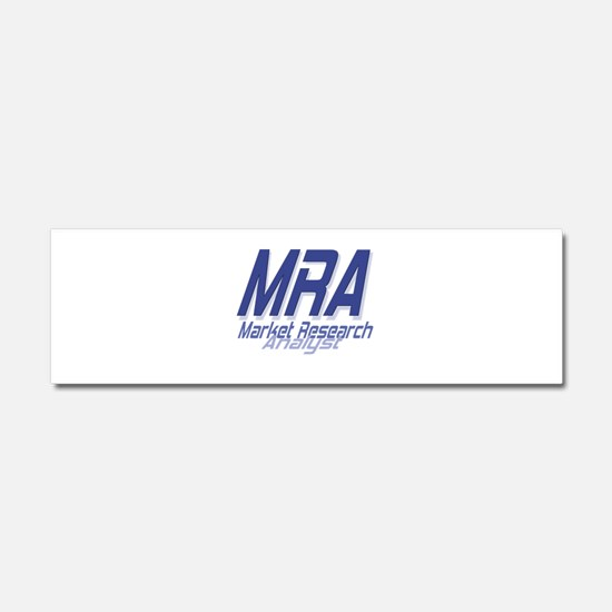 Cool Market Research Analyst Car Magnet 10 x 3