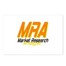 Market Research Analyst Postcards (Package of 8)