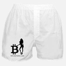 Funny Bitcoin Boxer Shorts