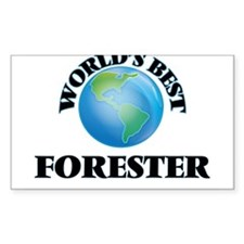 World's Best Forester Decal