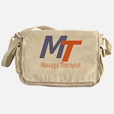 Modern Cool Massage Therapist Messenger Bag