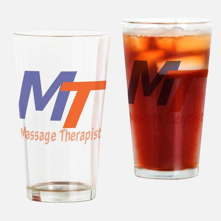 Modern Cool Massage Therapist Drinking Glass