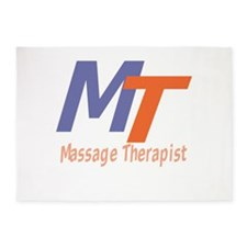 Modern Cool Massage Therapist 5'x7'Area Rug