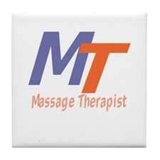 Modern Cool Massage Therapist Tile Coaster