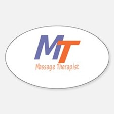 Modern Cool Massage Therapist Decal
