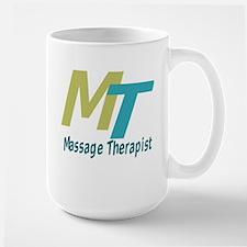 Logo Style Massage Therapist Mug