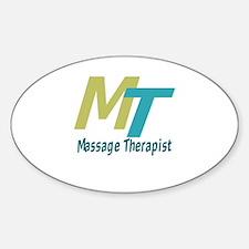 Logo Style Massage Therapist Decal