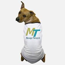 Logo Style Massage Therapist Dog T-Shirt