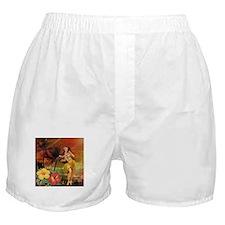 passion flower hawaii hula dancer Boxer Shorts