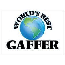World's Best Gaffer Invitations