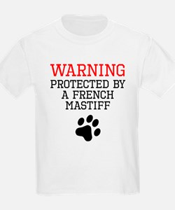 Protected By A French Mastiff T-Shirt