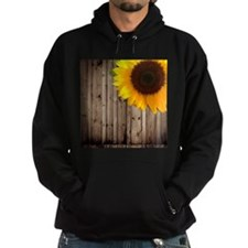 sunflower barnwood country Hoody