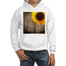 sunflower barnwood country Hoodie