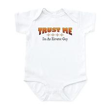Trust Elevator Guy Infant Bodysuit