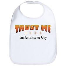 Trust Elevator Guy Bib