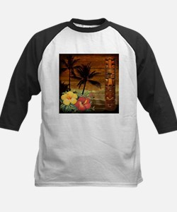 passion flower hawaii totem Baseball Jersey