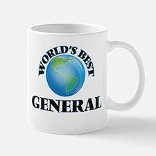 World's Best General Mugs