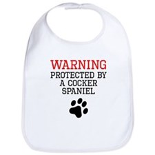 Protected By A Cocker Spaniel Bib