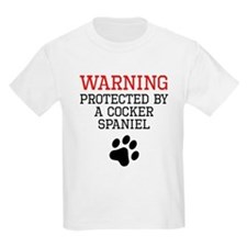 Protected By A Cocker Spaniel T-Shirt