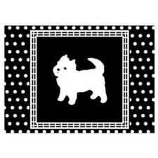 Cute West highland terrier Invitations