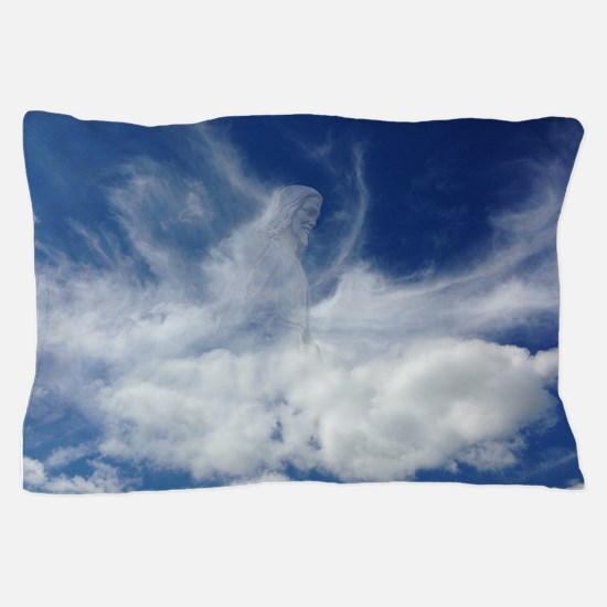 Jesus in Clouds Pillow Case
