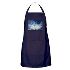 Jesus in Clouds Apron (dark)