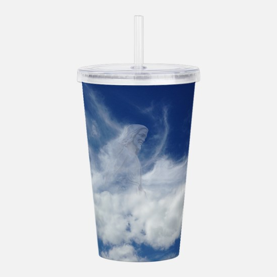 Jesus in Clouds Acrylic Double-wall Tumbler