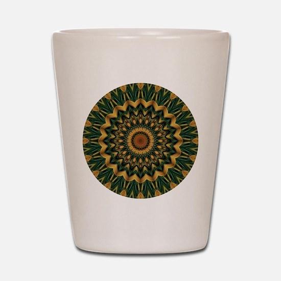Nature's Mandala Shot Glass