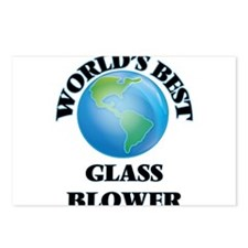 World's Best Glass Blower Postcards (Package of 8)