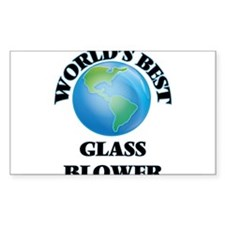 World's Best Glass Blower Decal