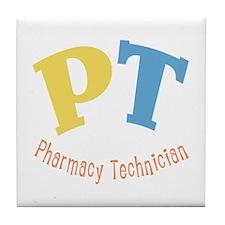 Pharmacy Technician Tile Coaster