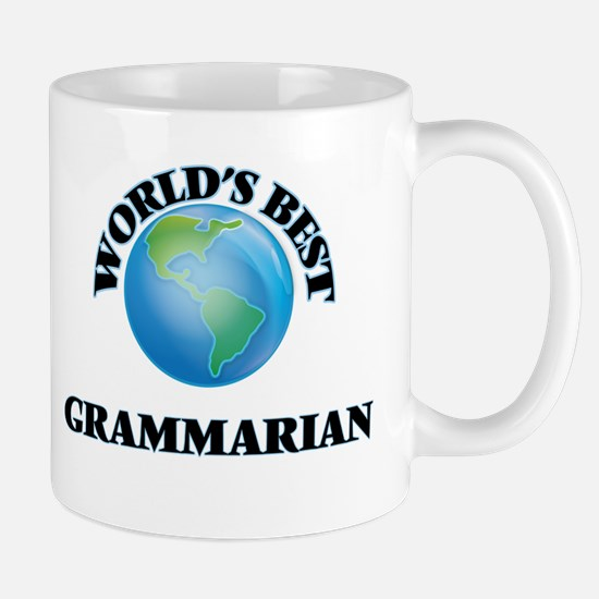 World's Best Grammarian Mugs
