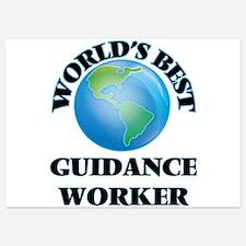 World's Best Guidance Worker Invitations