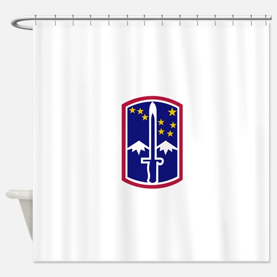 172nd Infantry Brigade.png Shower Curtain