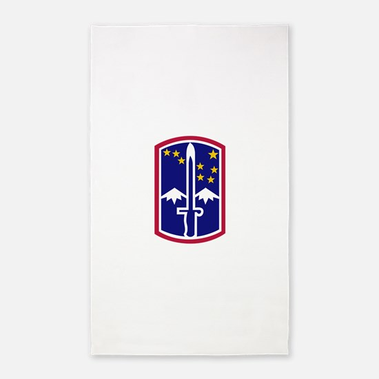172nd Infantry Brigade.png 3'x5' Area Rug