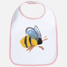Bee - Watercolor Bib