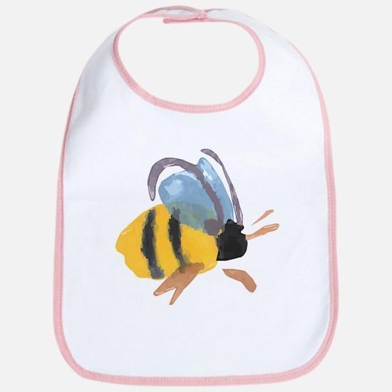 Bee - Watercolor Bib