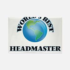 World's Best Headmaster Magnets