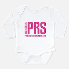 Public Relations Speci Long Sleeve Infant Bodysuit
