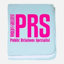Public Relations Specialist baby blanket