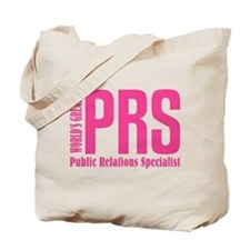 Public Relations Specialist Tote Bag