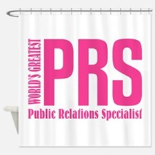 Public Relations Specialist Shower Curtain