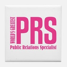 Public Relations Specialist Tile Coaster