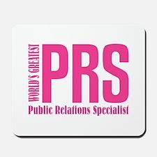 Public Relations Specialist Mousepad