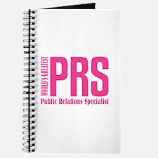Public Relations Specialist Journal