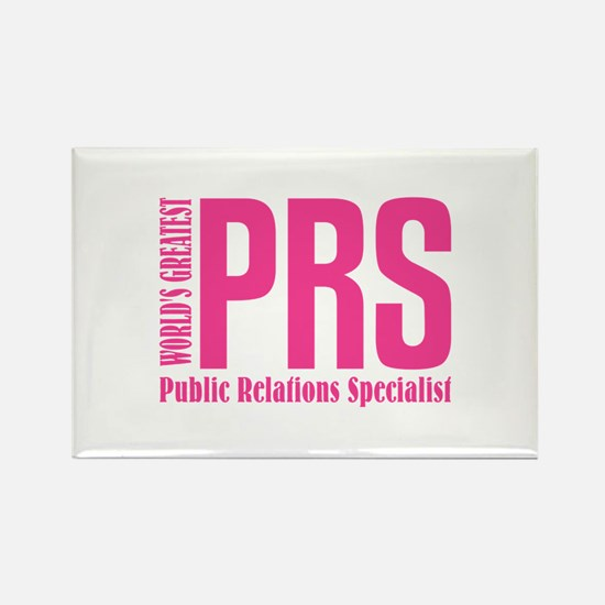 Public Relations Specialist Rectangle Magnet