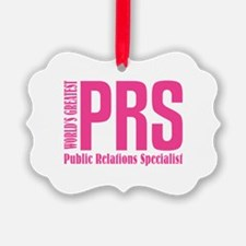 Public Relations Specialist Ornament