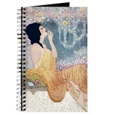 Art Deco Vanity Lady Journal