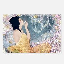 Art Deco Vanity Lady Postcards (Package of 8)